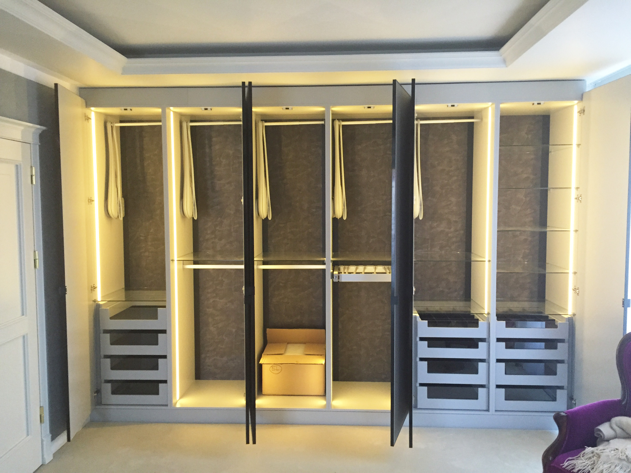 Garderoba w szafach No29
